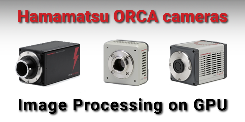 Hamamatsu software for ORCA cameras