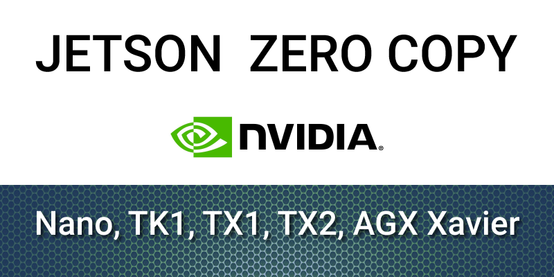 Jetson zero-copy for embedded applications | fastcompression com