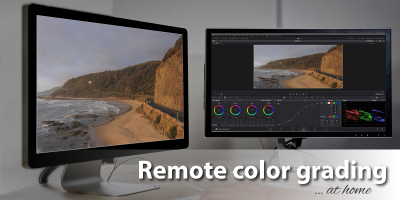remote colour grading
