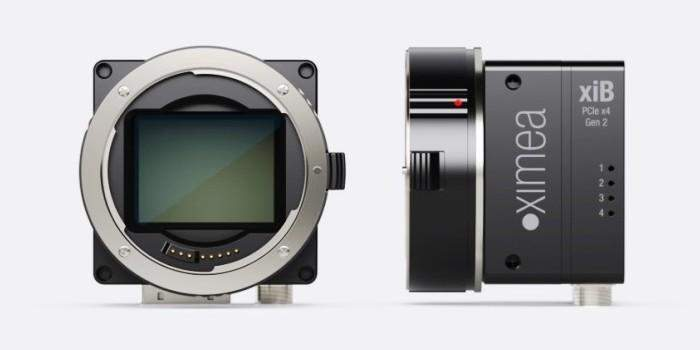 XIMEA CB500 camera 48 MPix at 30 fps
